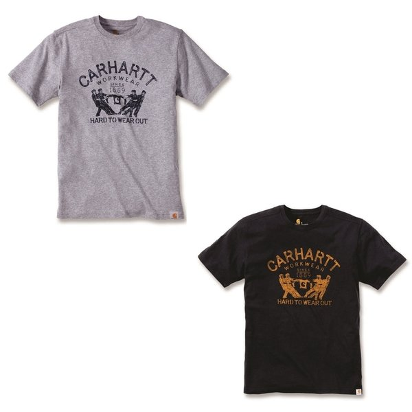 CARHARTT Hard to wear out Graphics Short Sleeve T-Shirt