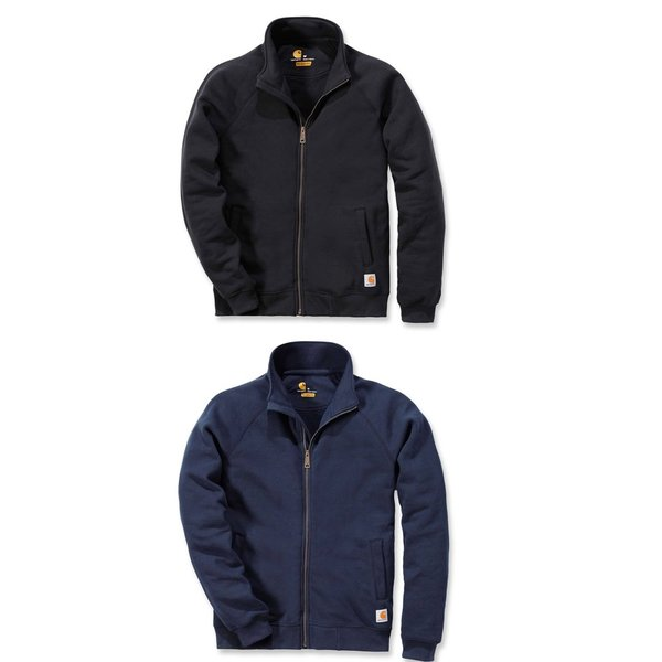 CARHARTT Fleece Mock Neck Zip Sweatshirt