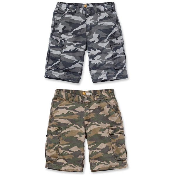 CARHARTT Rugged® Cargo Camo Short - in 2 Farben